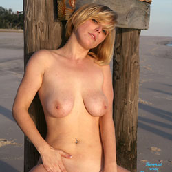 Penny's Old Pier - Big Tits, Shaved, Beach Voyeur