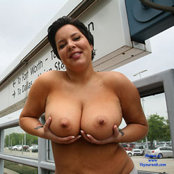 Missed Her Bus - Big Tits, Brunette
