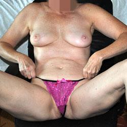 Sara In Tiny Pink Panties - Big Tits