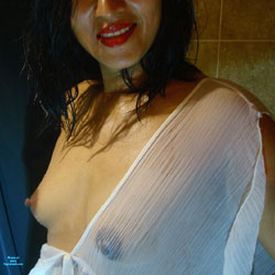 Wet And Wild And Juicy - See Through, Medium Tits