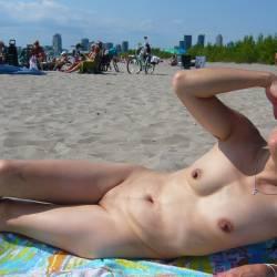 Small tits of my girlfriend - Irene