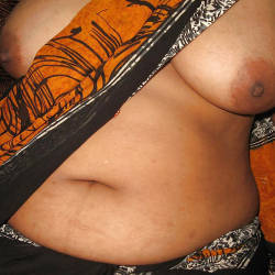 Very large tits of a neighbor - Anuska