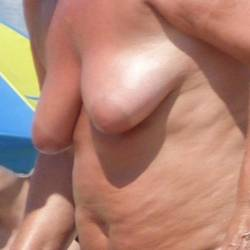 Medium tits of my wife - Lisa
