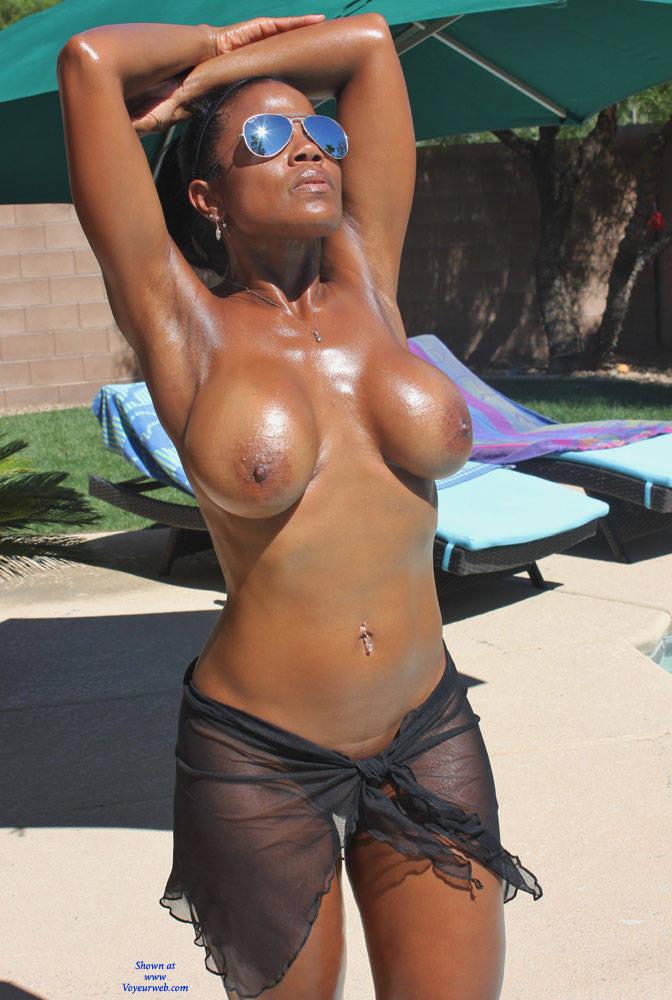 skinny ebony big boobs