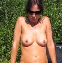 Medium tits of my girlfriend - M...
