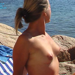 Linda Nude At The Beach - Beach, Shaved