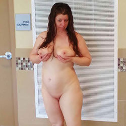 Hubby Lets Me Play - Public Place, Public Exhibitionist, Flashing, Big Tits, Wife/Wives