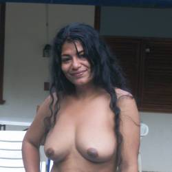 Medium tits of my wife - Rosa