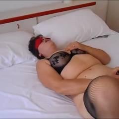 Isa Again - Masturbation, Lingerie, Brunette, Big Tits, Toys