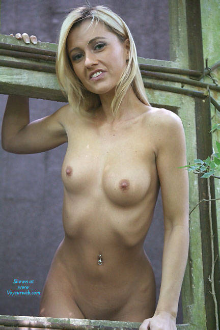 Seducing Naked Blonde Girl - November, 2015 - Voyeur Web -7249