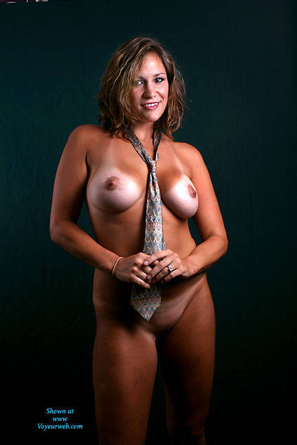 Pic #1 - The Tie - Big Tits , Nude, Sexy, Voluptuous, Big Tits, Thick Chicks