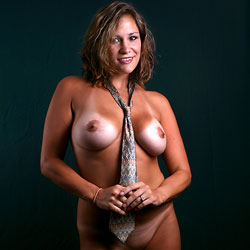 Naked With A Necktie  - Artistic Nude, Big Tits, Brunette Hair, Full Nude, Hanging Tits, Perfect Tits, Shaved Pussy, Short Hair, Showing Tits, Hairless Pussy, Naked Girl, Sexy Body, Sexy Boobs, Sexy Face, Sexy Figure, Sexy Legs