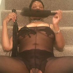 Ready For My New Friends - Ebony, See Through, Wife/Wives