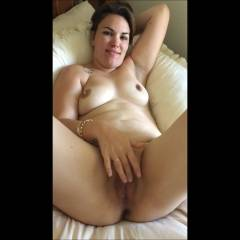 Play Time - Big Tits, Brunette, Masturbation, Shaved, Wife/Wives