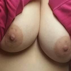 Medium tits of my wife - KatieP