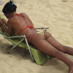 Casa Caiada Beach, Olinda City - Beach, Bikini Voyeur, Brunette