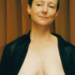 Medium tits of my wife - Margaret