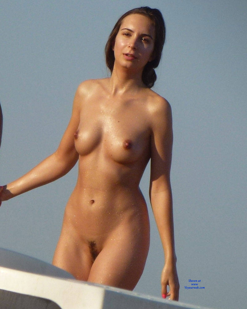 erect nipples beach Nude