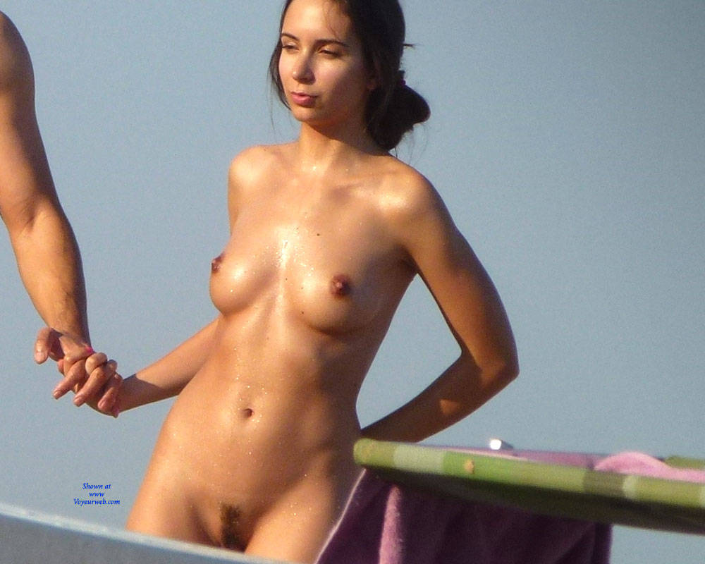 Erected Nipples Un Nudist Beach - November, 2015 - Voyeur Web-6970
