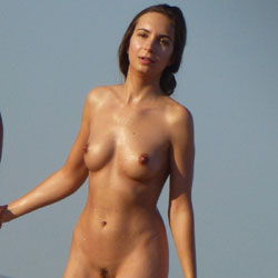 Erected Nipples Un Nudist Beach - Beach, Big Tits