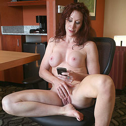 Call Me! - Redhead, Masturbation, Big Tits, Shaved