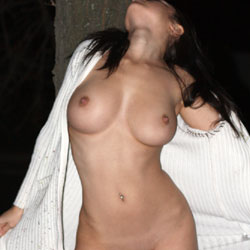 Benita - Flashing, Big Tits, Public Exhibitionist, Public Place