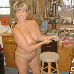 Debbie the Shop Girl - Big Tits, Naked Blonde, Wife/Wives