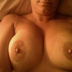 Large tits of my wife - Susie