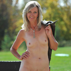 Fall Frolick - Blonde Hair, Mature