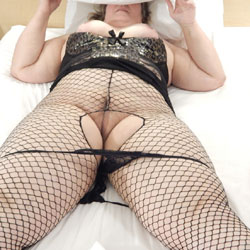 More Fishnet - Lingerie