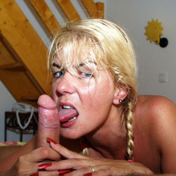 Coco French Exposed Web Slut With Friend - Blonde, Blowjob, Penetration Or Hardcore