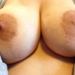 Very large tits of...