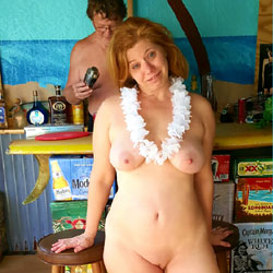 Quick Trip To The Beach Part 3 - Redhead, Public Place, Public Exhibitionist, Flashing, Big Tits, Shaved