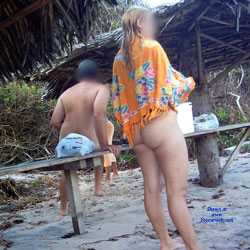 Blonde In Tambaba Beach, Brazil - Beach