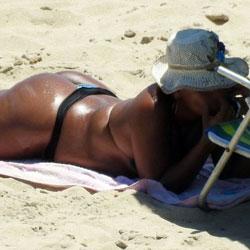 Big Ass From Recife City, Brazil - Beach