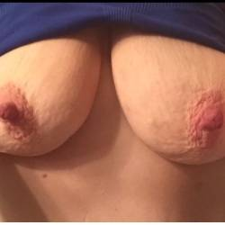 Large tits of my wife - Amazing nipples