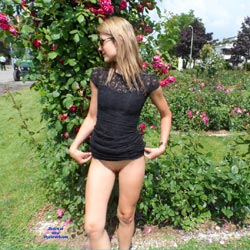 In The Tuscan Countryside - Blonde, Gf, Public Exhibitionist, Public Place