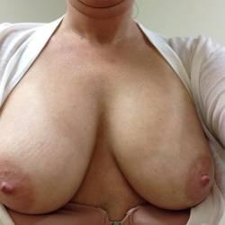 Medium tits of my wife - Wife's Tits