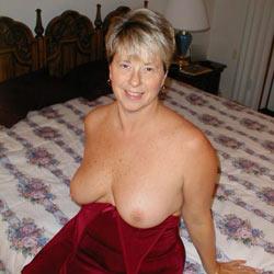My Little Red Dress - Big Tits