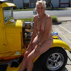 Hot Rod Heaven Part 2 - Big Tits, Blonde
