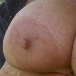 Very large tits of my wife - big tits