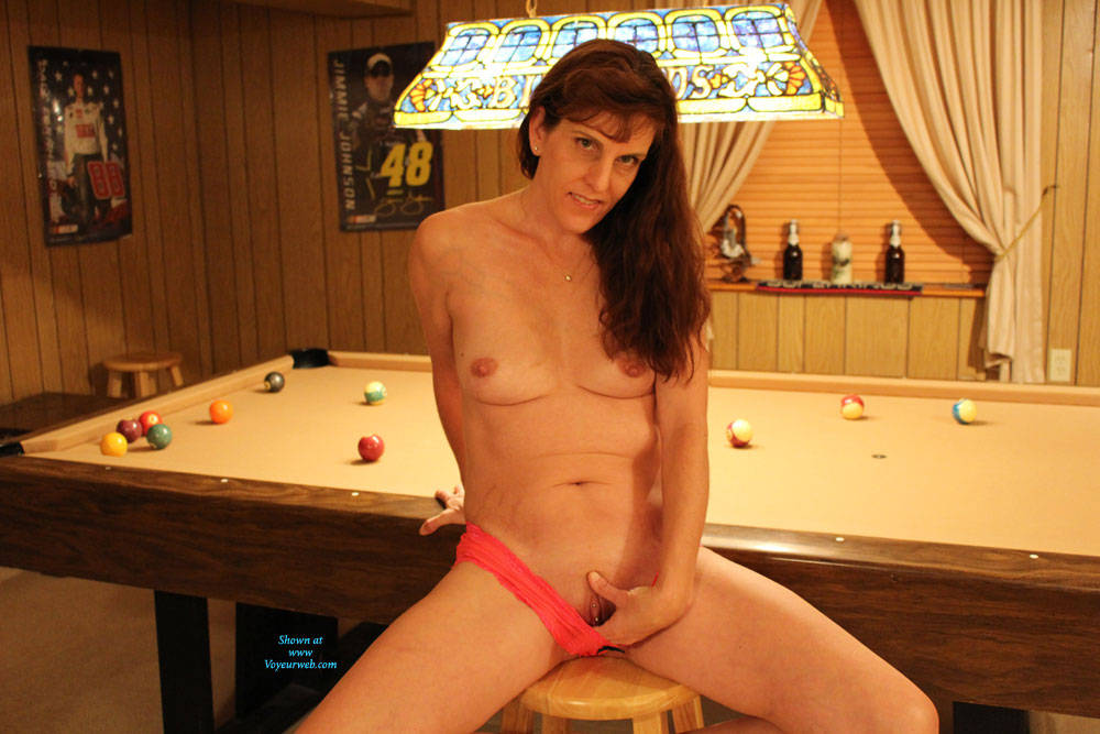 Pic #1 - Playing Strip Pool With RC  - Redhead, Wife/Wives , Redhead, Milf, Cougar, Sexy Mama, Hot White Lady