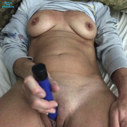 Enjoying Herself  - Big Tits, Masturbation, Toys, Wife/Wives