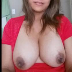 Medium tits of my wife - tgmk
