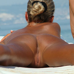 Rear Views - Beach, Firm Ass