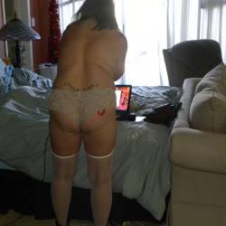 My girlfriend's ass - sues