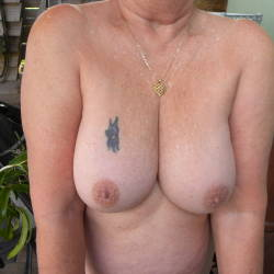 Medium tits of my girlfriend - sues