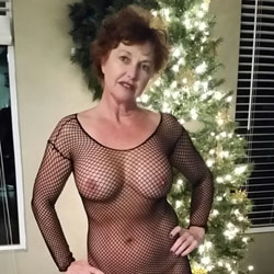 12 Nighties Of Christmas  - Lingerie, Brunette, Big Tits, Mature