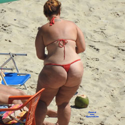 Fat Asses From Brazil - Beach, Big Ass