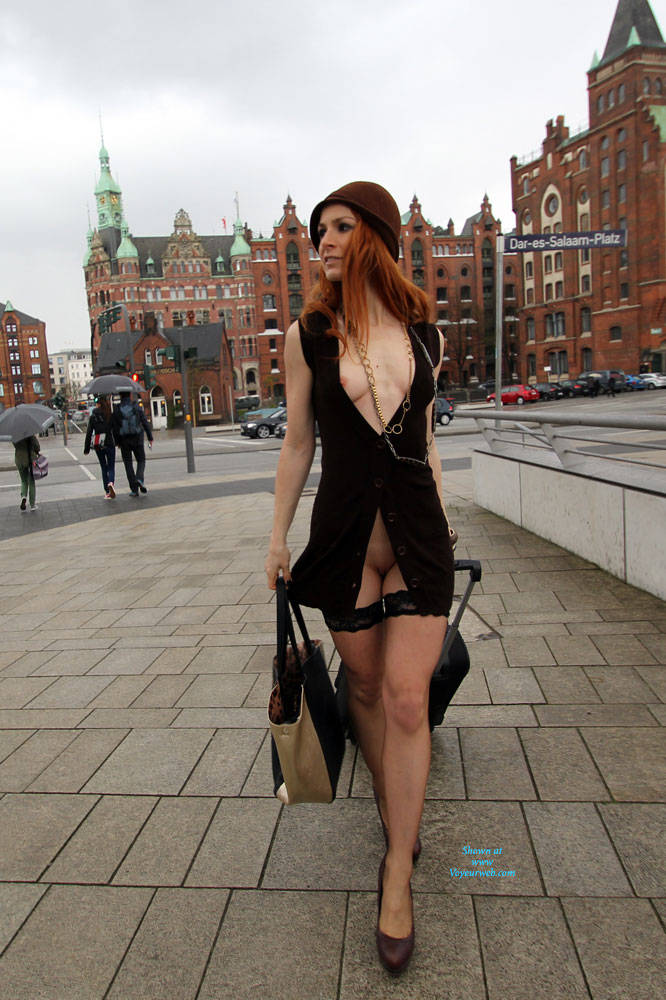 image Jeny smith pantyhose and high heels fetish tease